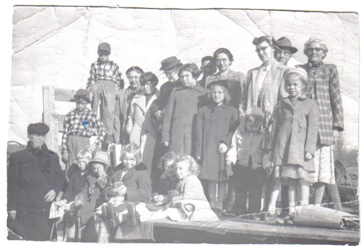 The Spry Settlement Sunday School circa 1960.