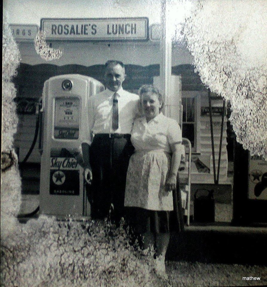 Rosalie's Lunch and Texaco  1972