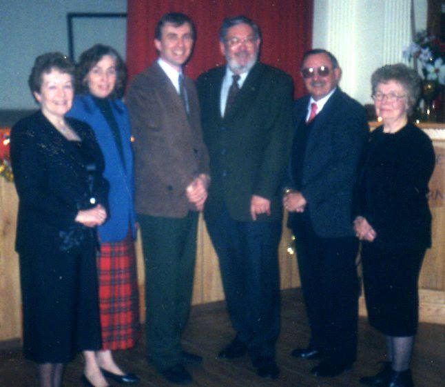 Hastings County Reeves with MP Larry McCormick & M&LW. Bush, B. Danes, B. Dagleish, MP Larry McCormick, T. Deline, M. Walsh