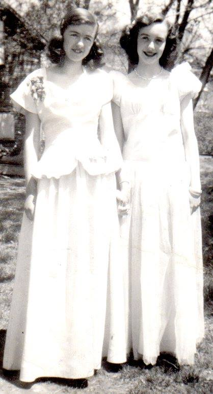 Joan Belanger and Wilma McKinnon