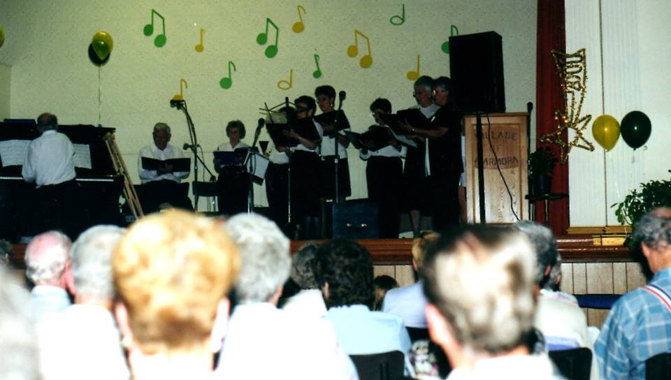 Town Hall, July 5, 2000 - Millenium Choir