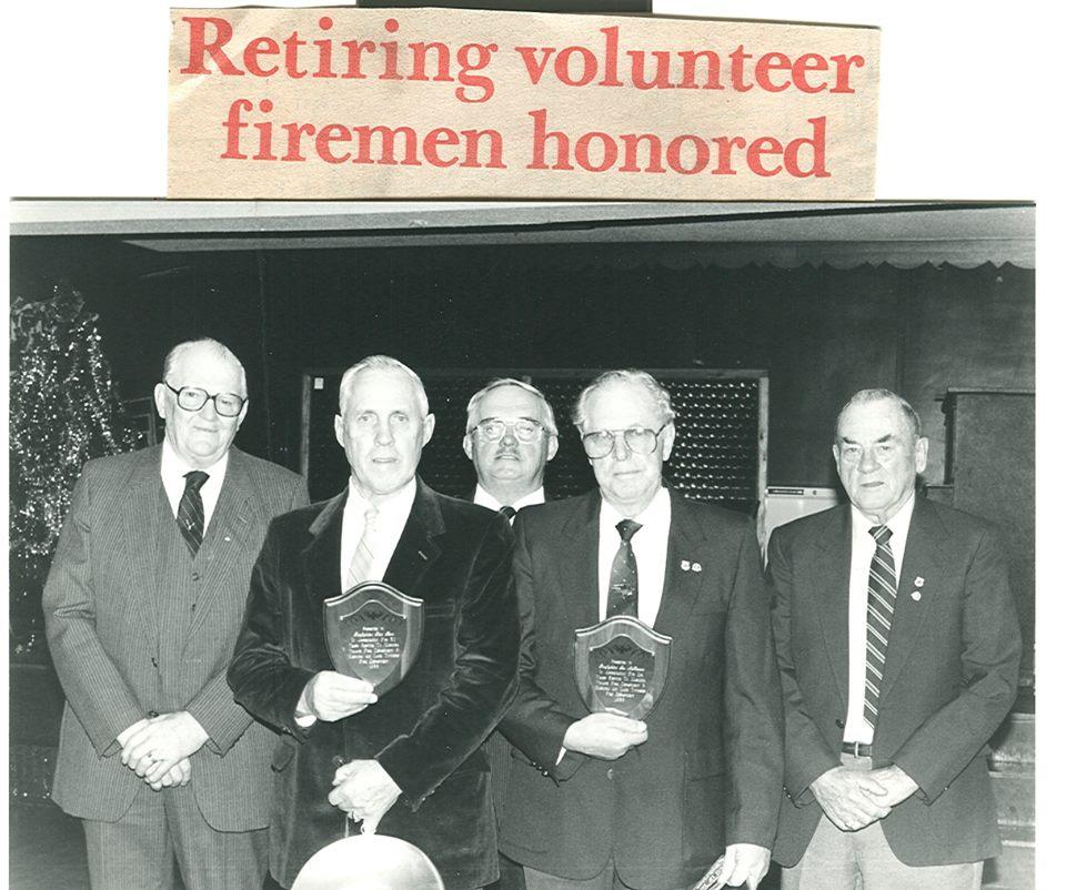 Graham Bell, Tink Kerr, Cec Neal, Les McKeown, Bill Monk