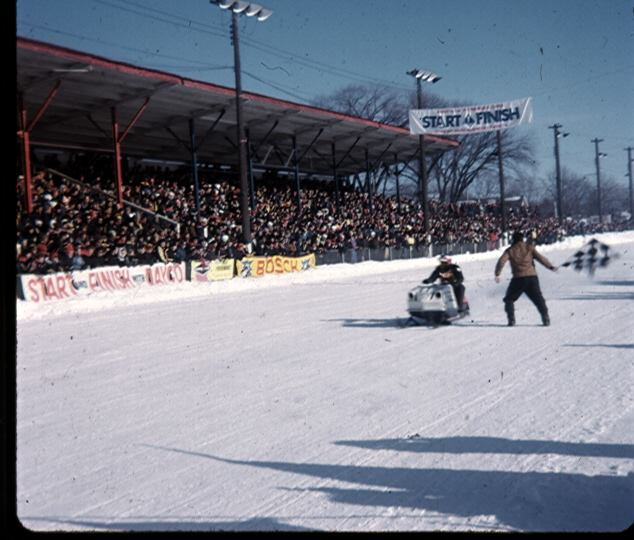 Ken Bonter . Winning his first race at the very first Kawartha Cup in Peterborough I think 1974