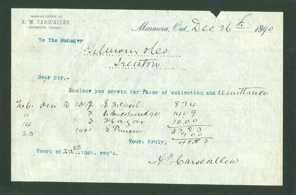 1890 Bank note A.W. Carscallen.jpg