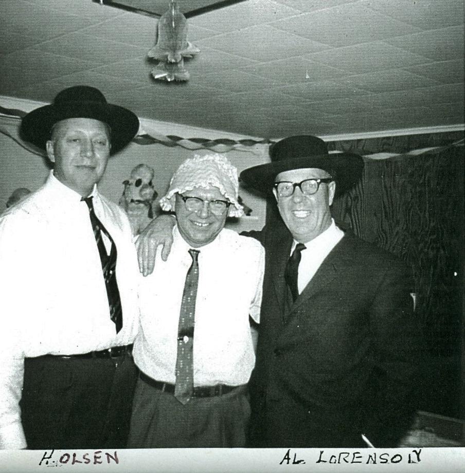 H. Olsen, Buck Hornsby, Al Lorenson