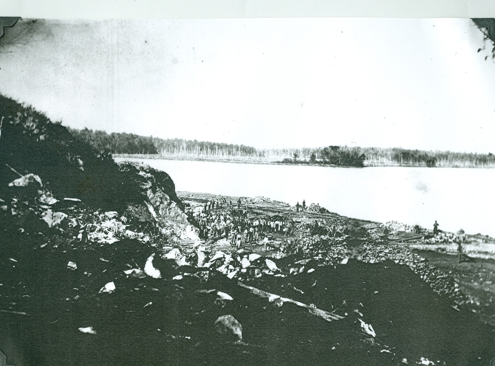 Blairton Mine,  Crowe Lake