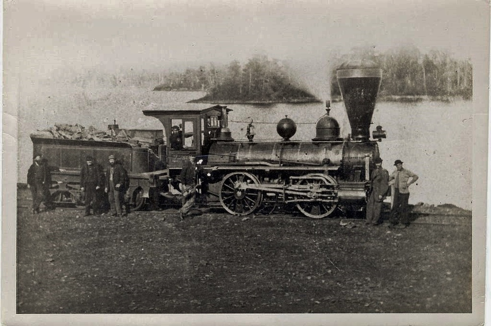 1870 Cobourg and Peterboroug _Railway Locomotive     = Blairton