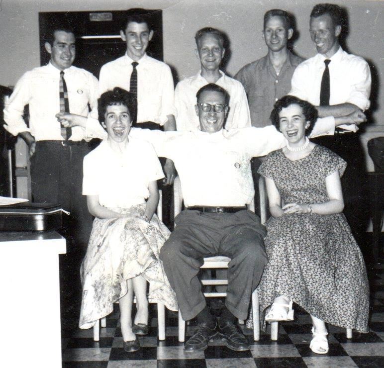 TD Bank Staff  July 1956