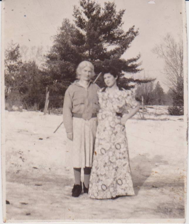 Myrtle Emigh Hynes Gifford & Dorothy Hynes Willman.