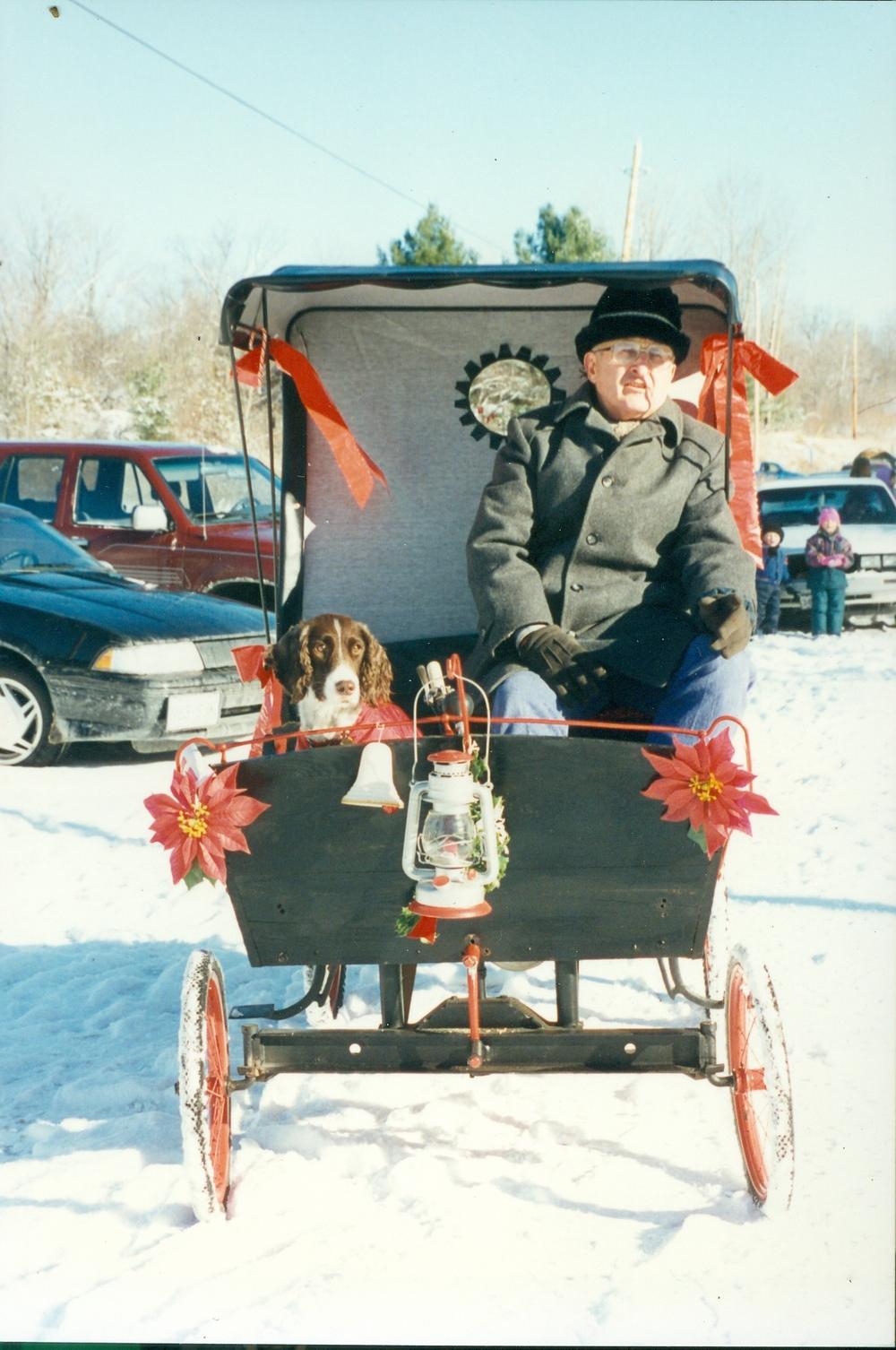 Cordova Santa Claus Parade 1990