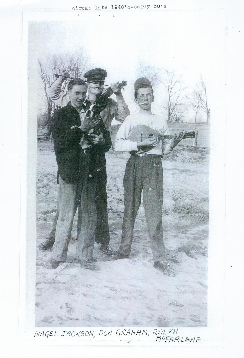 Cordova Nagel Jackson, Don Graham & Ralph McFarlane 1940-50.jpg