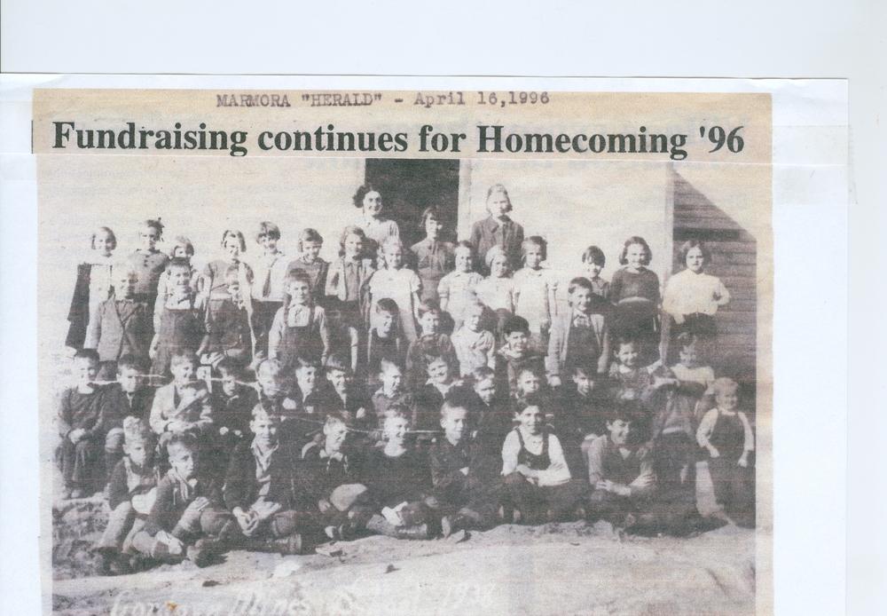 Cordova Mines School 1938