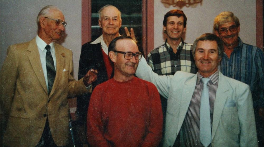 John Anderson, Ed Bowen, Wayne VanVolkenberg, Don Bowen George Cation