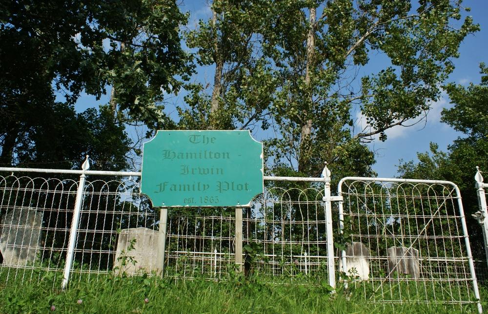 Hamilton Irwin Family Plot Cemetery