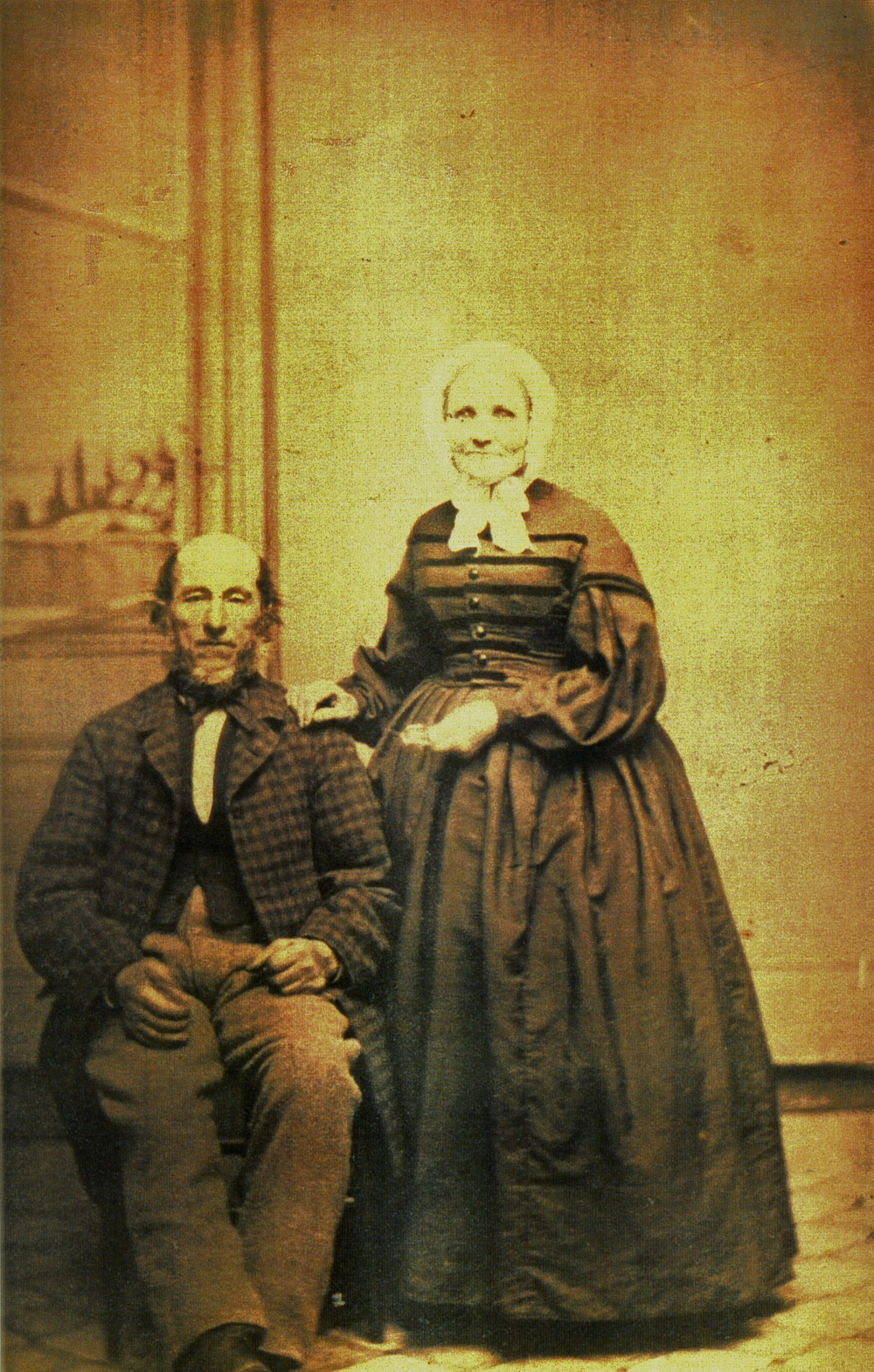 John Fidlar and his wife,  Elizabeth St. Harry