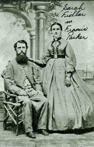 Sarah Fidlar and Francis Borland Parker