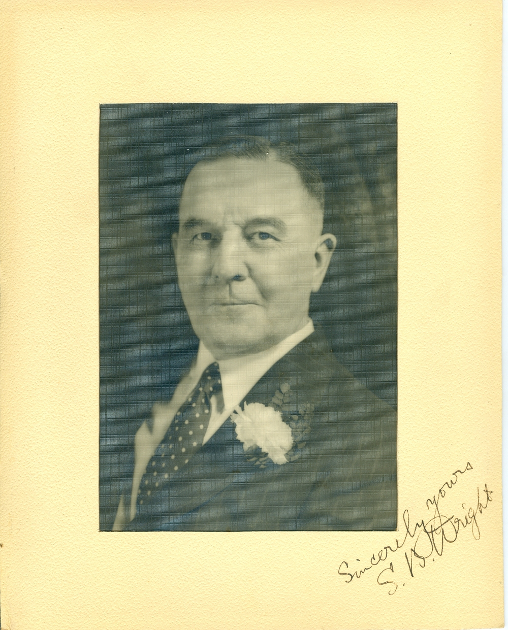 S.B. Wright,  Vice President of the Deloro Mining and Reduction Co.