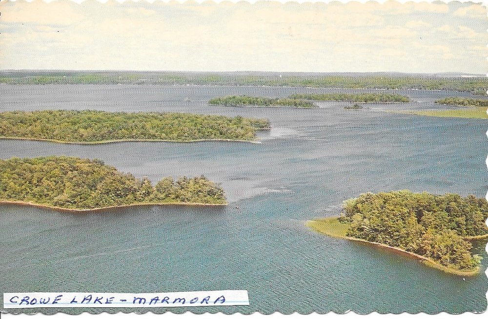 Crowe lake view from  northern Blairton  looking south east