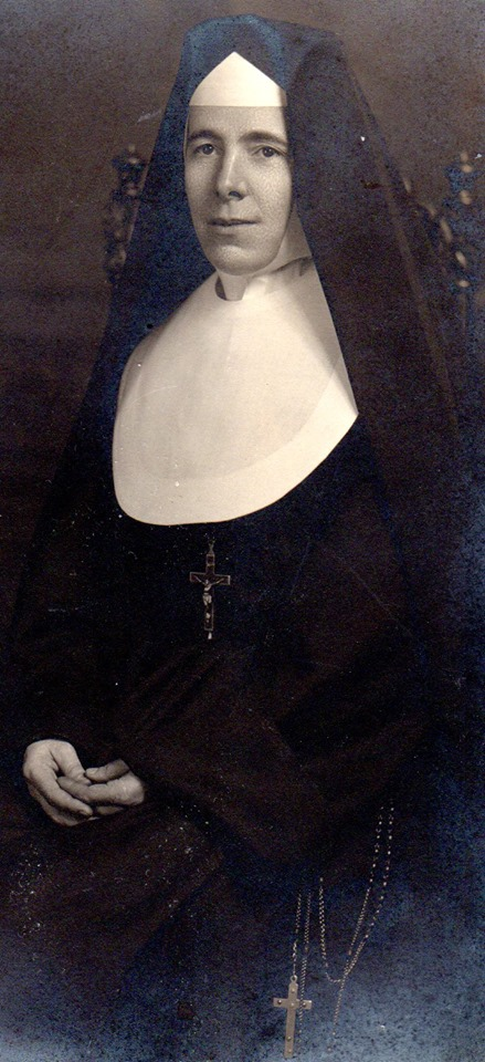 Sister Dominic Murray, of Marmora, was paternal great aunt of Celia Murray & Wilma McKinnon - she joined the Sisters of Providence of St. Vincent de Paul in Kingston. The nuns had a humble beginning in1861 - did pioneer work with the needy.  She was born as        Annie Loretta Murray. She died in 1955