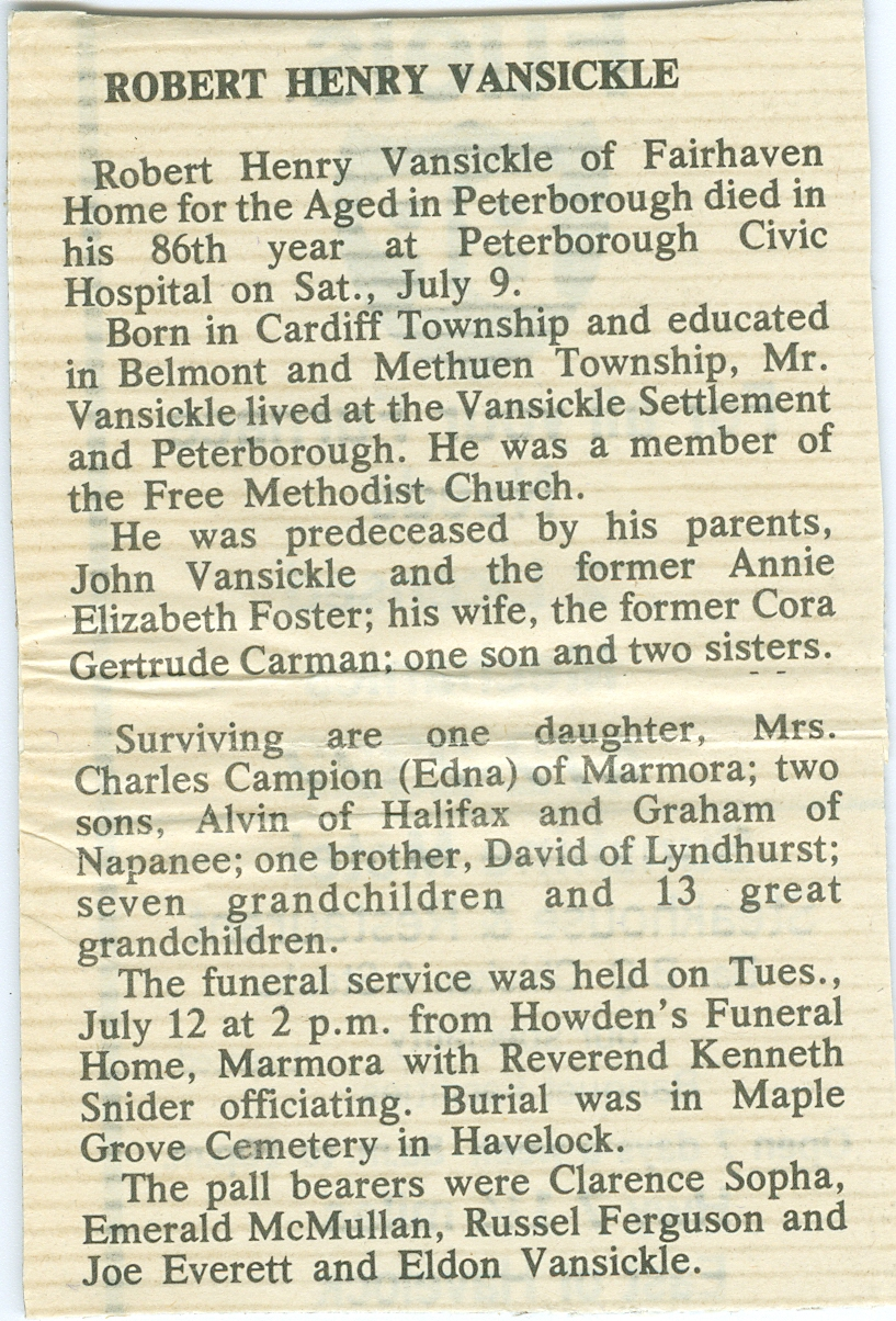 Vansickle,  Robert Henry Harry - obituary.jpg