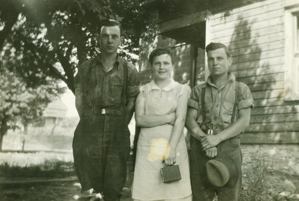 Alvin, Edna & Graham Vansickle 1931