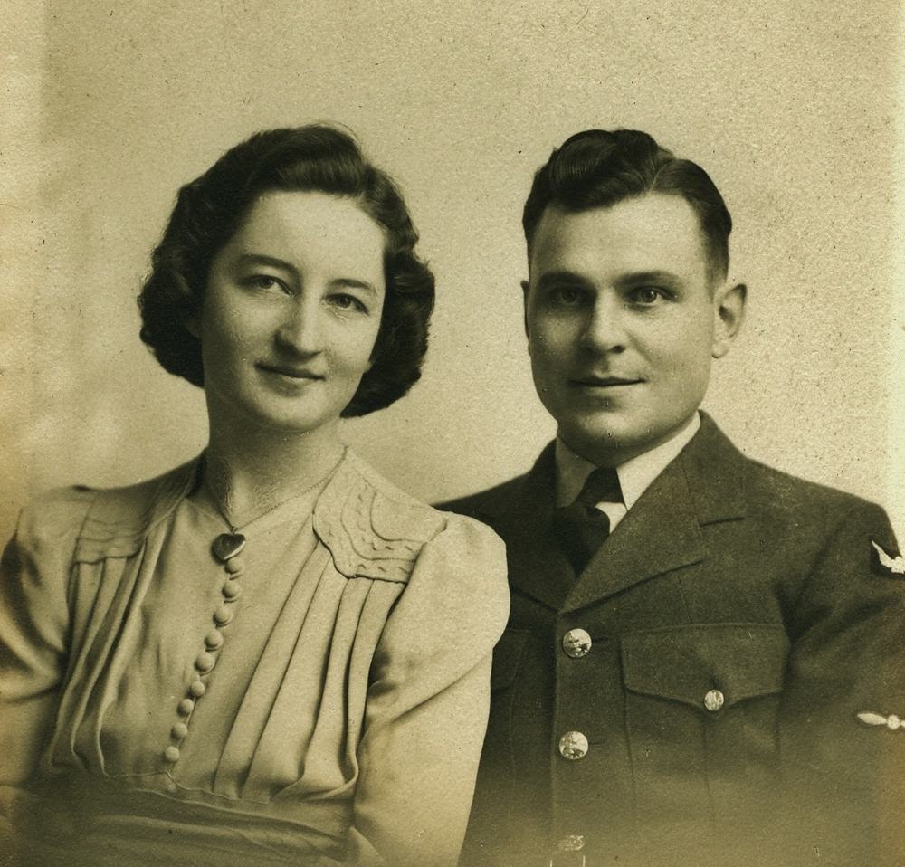 Doris & Graham Vansickle Wedding 1942