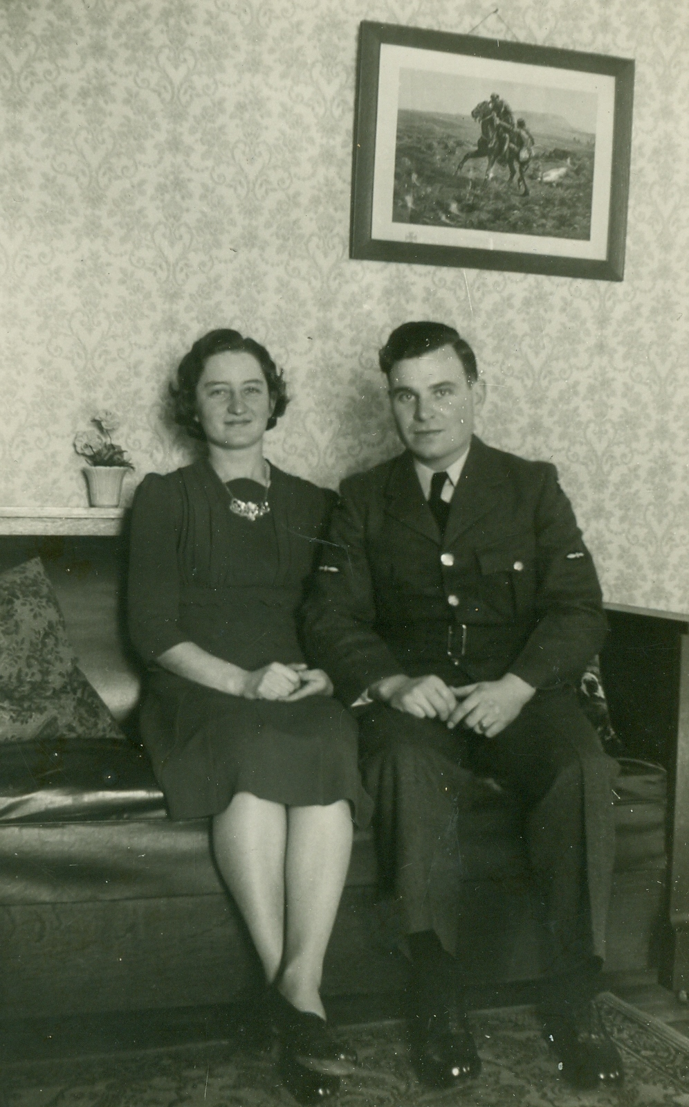 Doris & Graham Vansickle,  Served 1941-1945