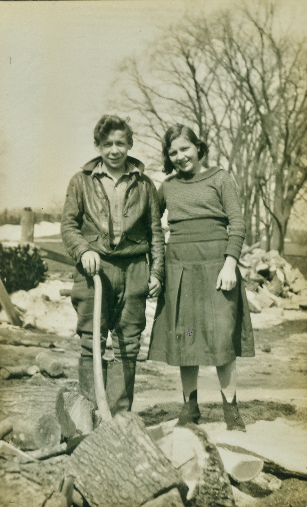 Earl & Edna Vansickle 1934