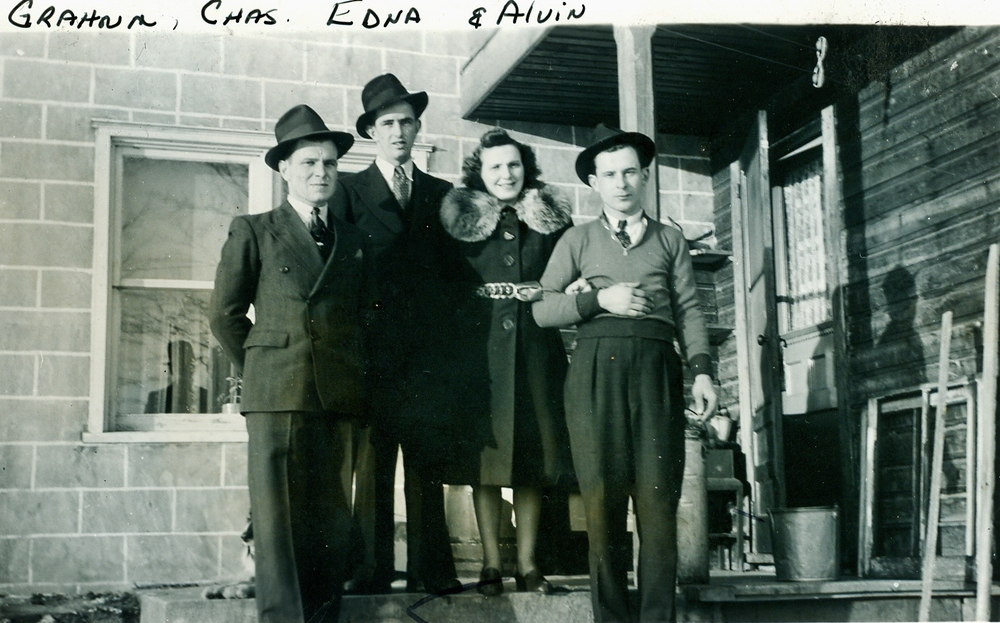 Graham Vansickle, Charles Campion,  Edna & Alvin Vansickle