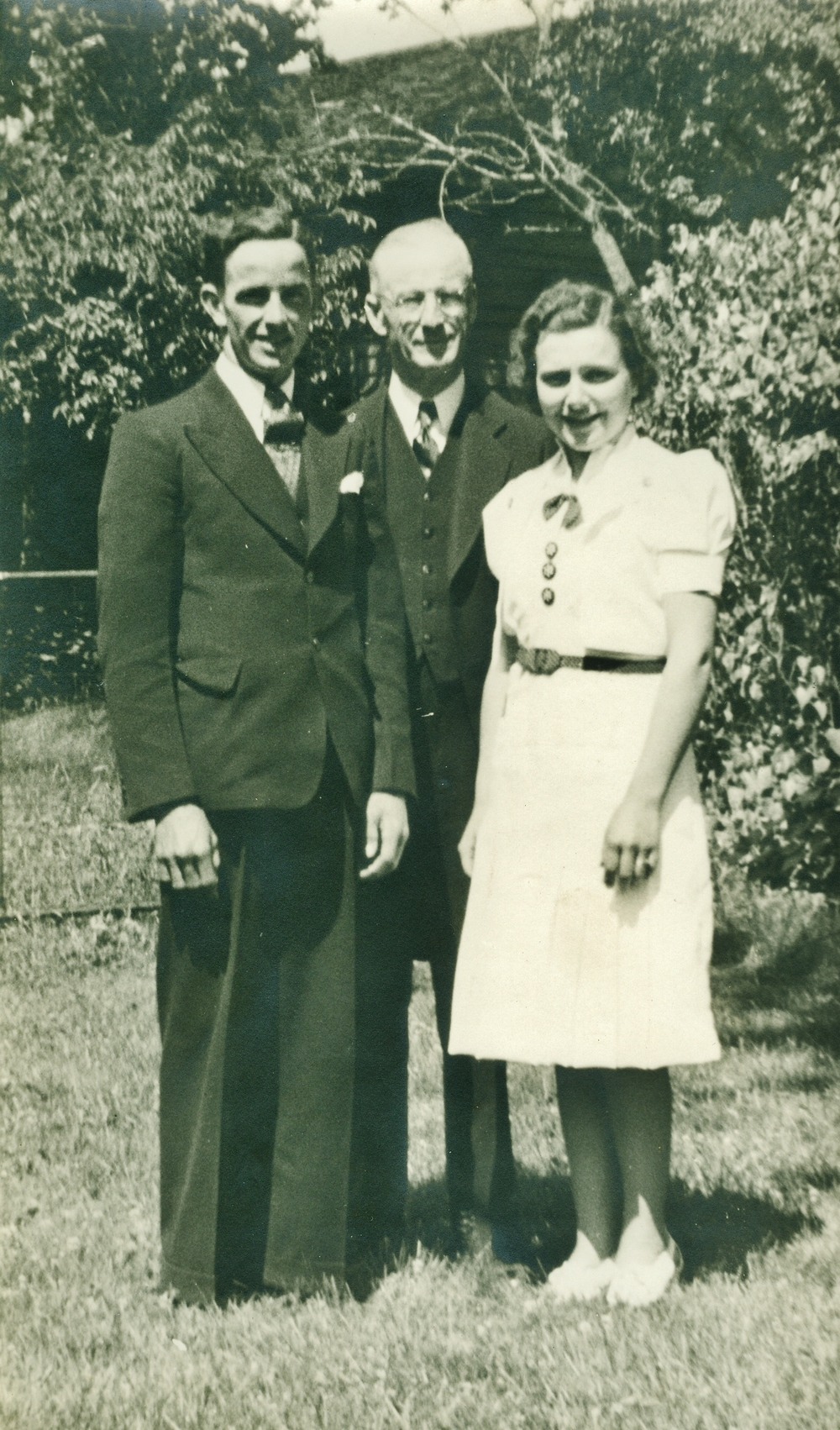 1939 Charles Earl Campion & Cora Edna Vansickle, married in Odessa,  Rev. Hollings worth
