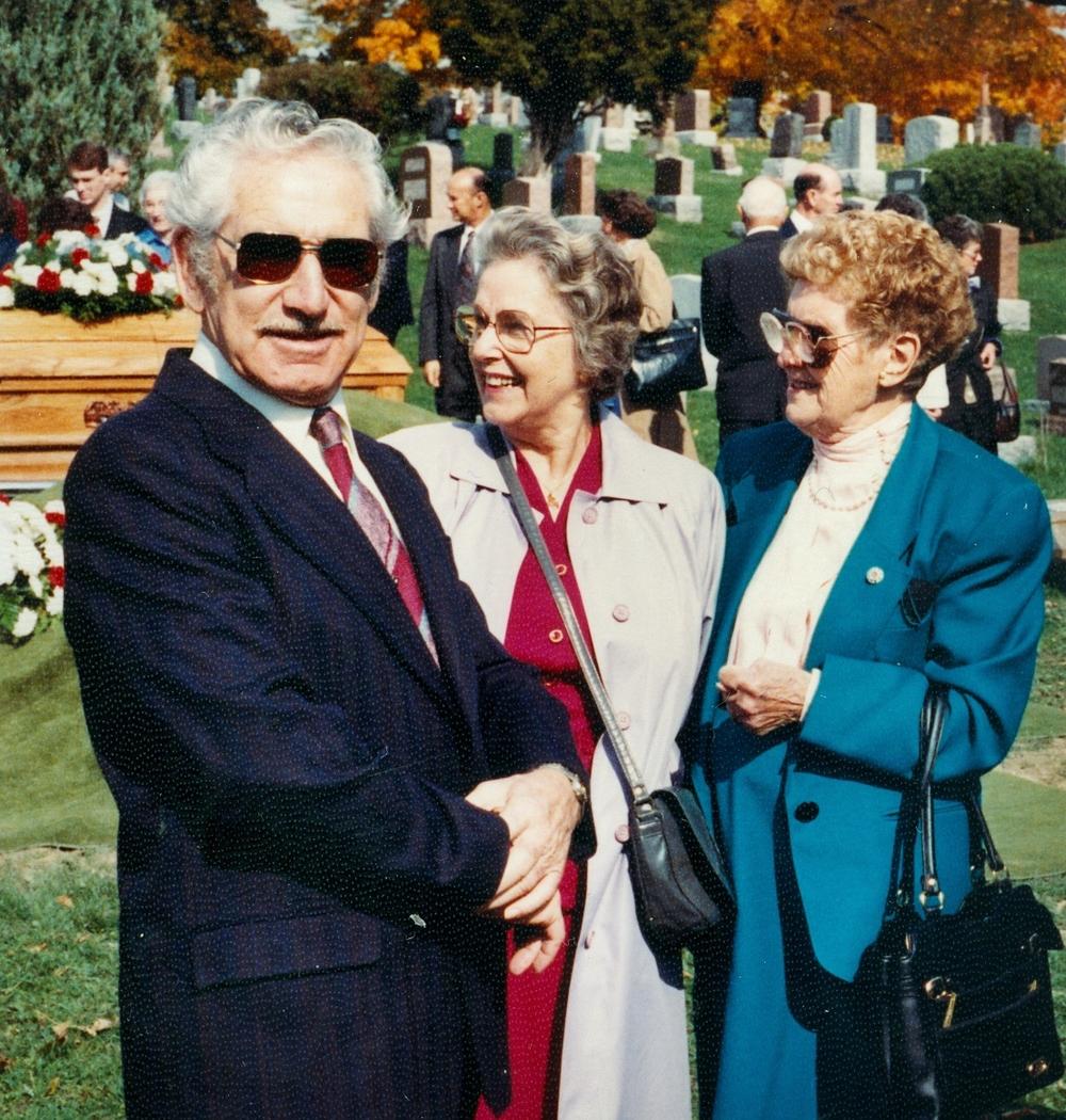 Eldon & Madeline Anetta (Jarvis) Vansickle & Eldon's half sister,  Ruth Moffatt