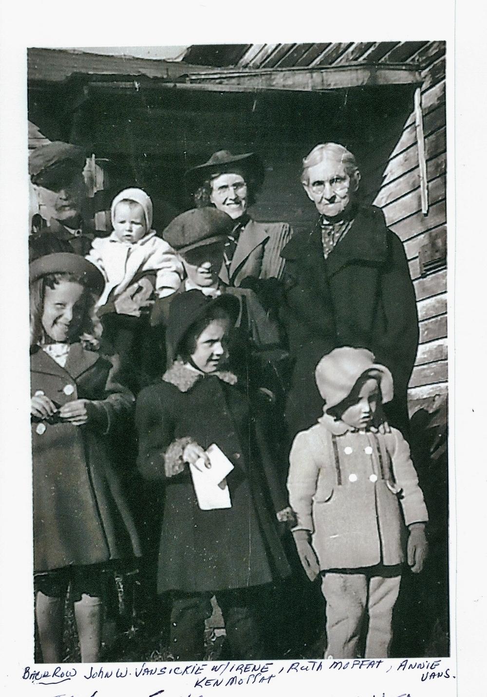 John & Annie Vansickle, Ruth & Ken Moffatt