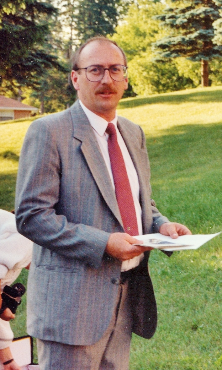 Mr. Murphy, 1992, \gr. 7/8 teacher, later Principal