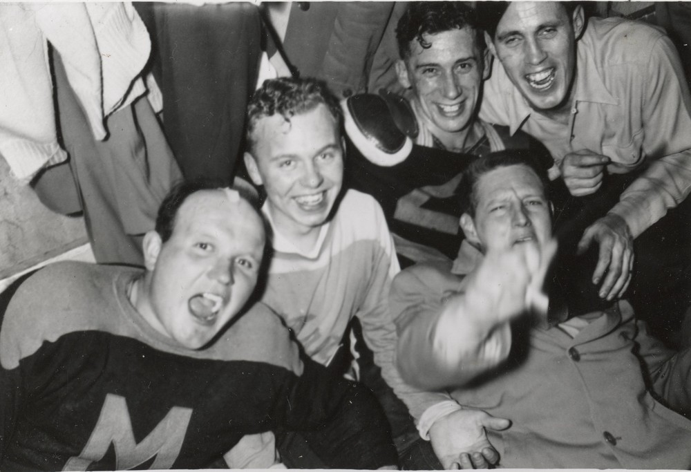 Glen Lavender, Bob Maynes, Ken (Stub) Trumble, Stan (Tink) Kerr, Bob Gray