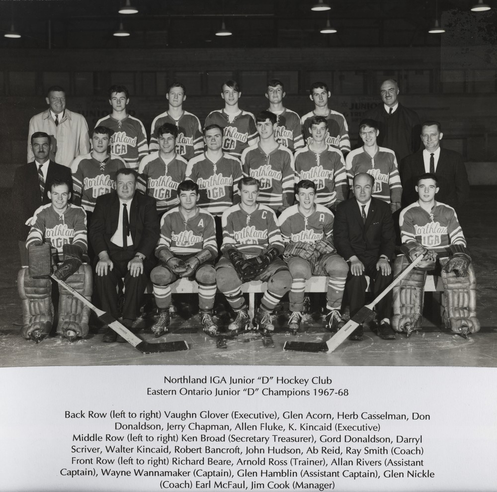 Eastern Ont. Jr. D Champions 1967-68 001