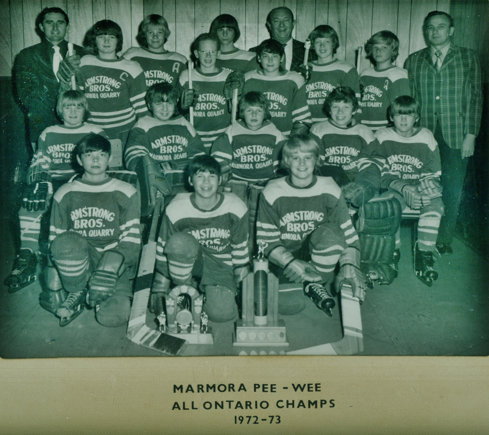 Minor Hockey, Pee Wee All Ont. Champs  1972-73.jpg
