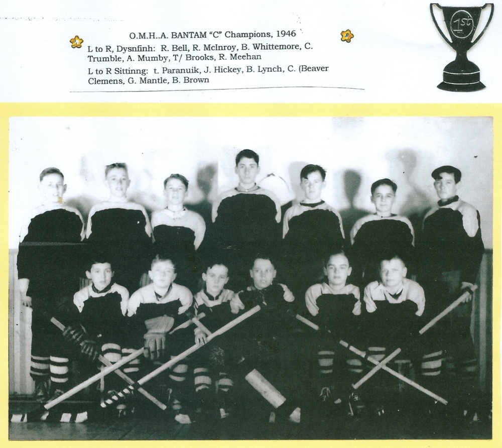 OMHA Bantam hockey champions, 1946.jpg