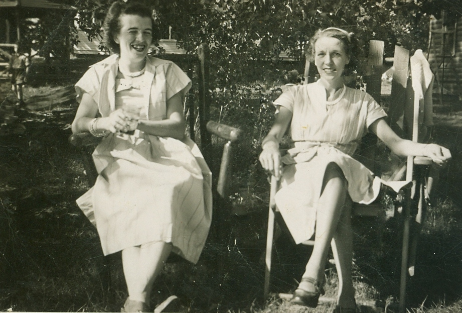Alice Marett and Helen Jones