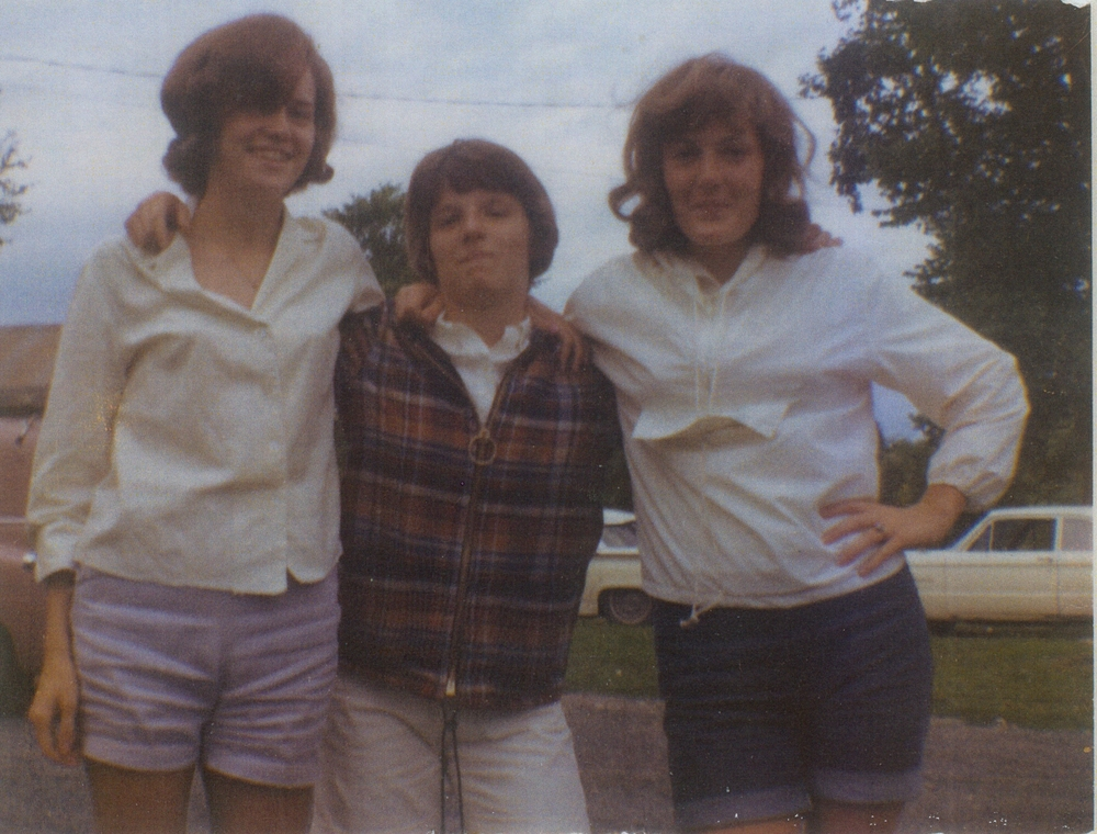 Maxine MacDonald,  Cathie Jones, Cheryl Leonard