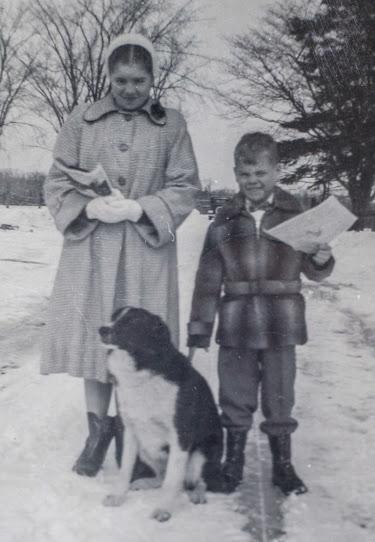 Carol& Lou & Buster Wilson circa1953