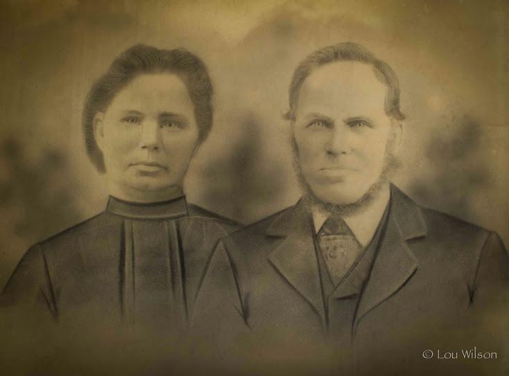 Christmas and Ester Plane, Madoc, Ontario, Circa1860, great grandparents of Lou Wilson