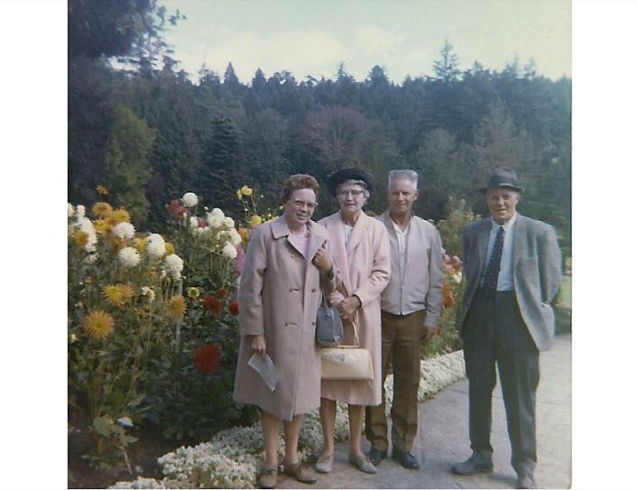 Della, Elsie, Walter, Evertt Wilson1970