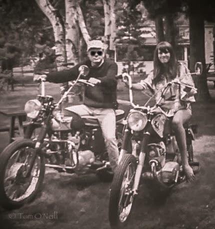 Lou Wilson and Lori 1968