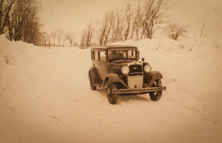 Lou Wilson's father's car