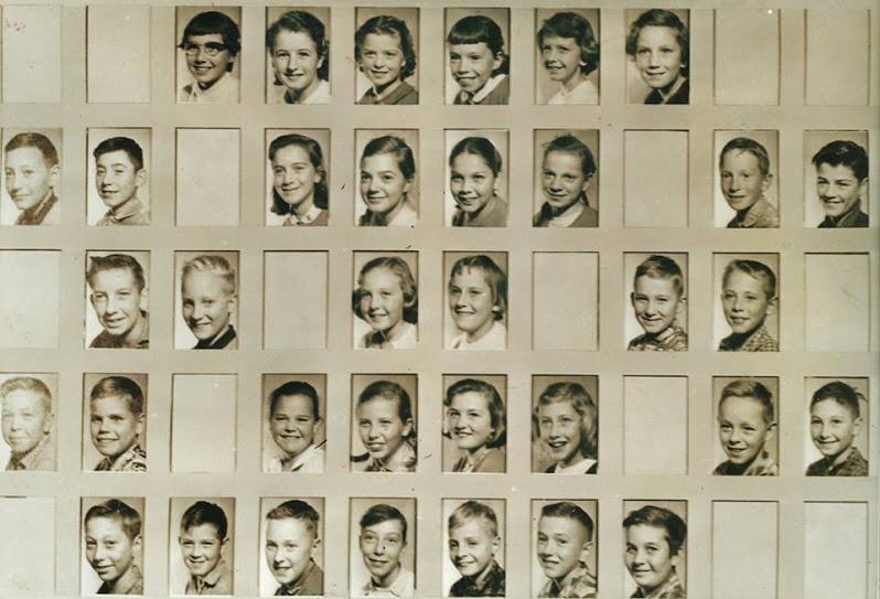 Marmora Public School,  Grade 5, c.1959