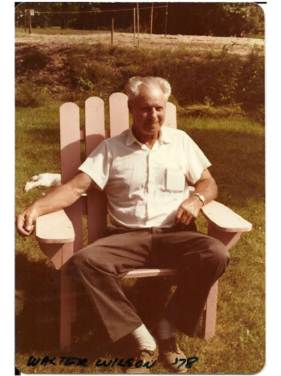 Walter Wilson in 1978 at Crow lake