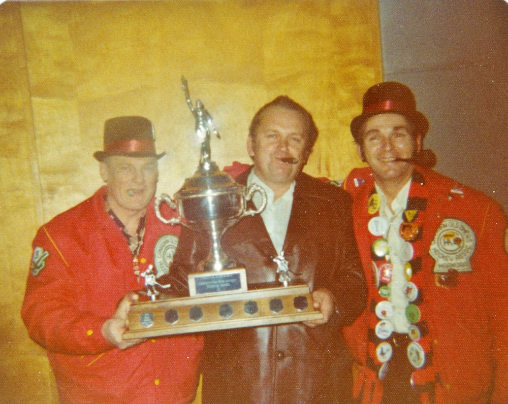 El Killian,  Doug Ruttan,  Earl Leonard  Old Timers Hockey
