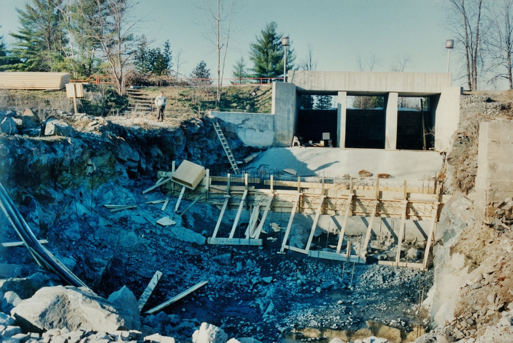 Crowe River, Marmora Dam, building the generating station(5).jpg