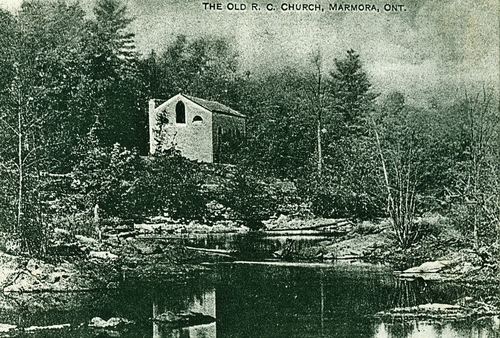 St. Matilda's Church,  Old Roman Catholic Church, west bank Crowe River