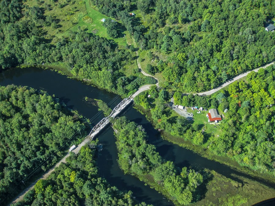 Aerial view of Shanick Bridge                                                                               Photo by Steve Neill